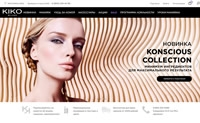 KIKO MILANO俄罗斯官网:意大利领先的化妆品和护肤品品牌