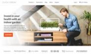 智能室内花园:Click & Grow