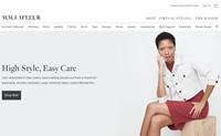 国外 网站:乌克兰设计师和品牌的服装:Love&Live-U9SEO
