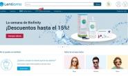 西班牙购买隐形眼镜、眼镜和太阳镜网站:Lentiamo.es