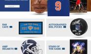 体育纪念品、亲笔签名的体育收藏品:Steiner Sports