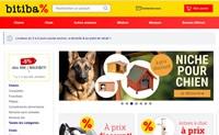 法国低价在线宠物商店:bitiba.fr