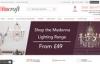 英国最大的在线照明商店:Litecraft