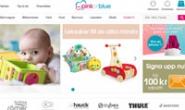 瑞典最大的儿童用品网上商店:pinkorblue.se