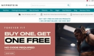 Myprotein亚太地区:欧洲第一在线运动营养品牌