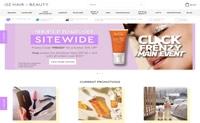 澳大利亚头发和美容产品购物网站:OZ Hair & Beauty