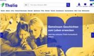 德国的各种媒体在线商店:Thalia.de(书籍、电子书、玩具等)