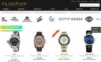 英国顶尖手表珠宝品牌独家授权经销商:HS Johnson