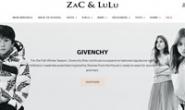 英国儿童设计师服装和玩具购物网站:Zac & Lulu
