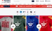 Fanatics官网:运动服装、球衣、运动装备