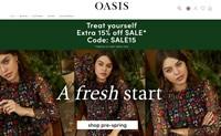 Oasis服装官网:时尚女装在线