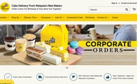 马来西亚在线蛋糕配送商店:Eat Cake Today