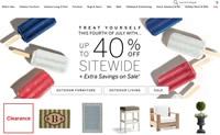 美国户外家具和家居购物网站:Frontgate