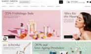 德国天然化妆品购物网站:Marie Jardin