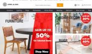 澳大利亚在线购买家具和家居用品网站:April & Oak