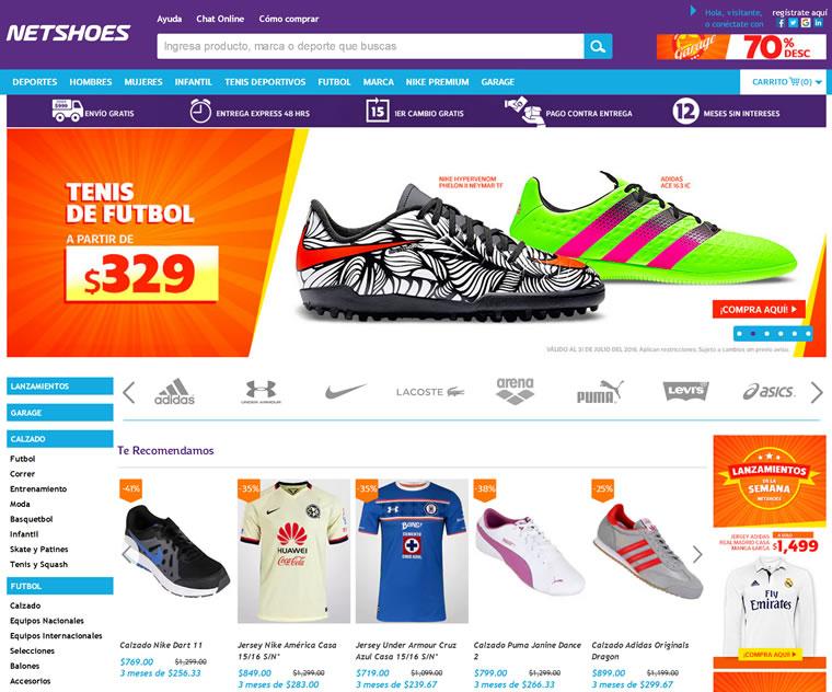 Netshoes - mx