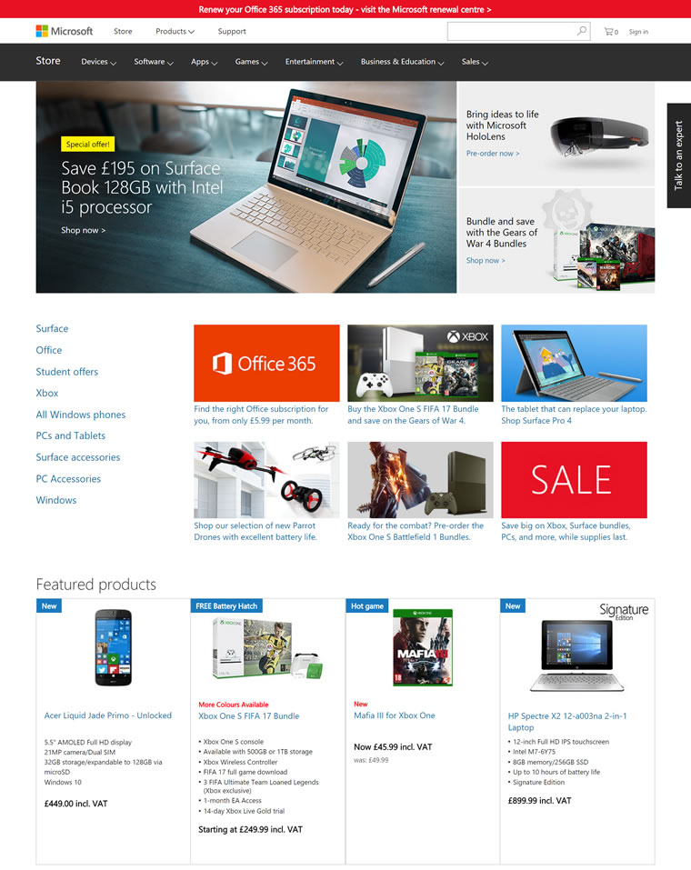 Microsoft Store United Kingdom