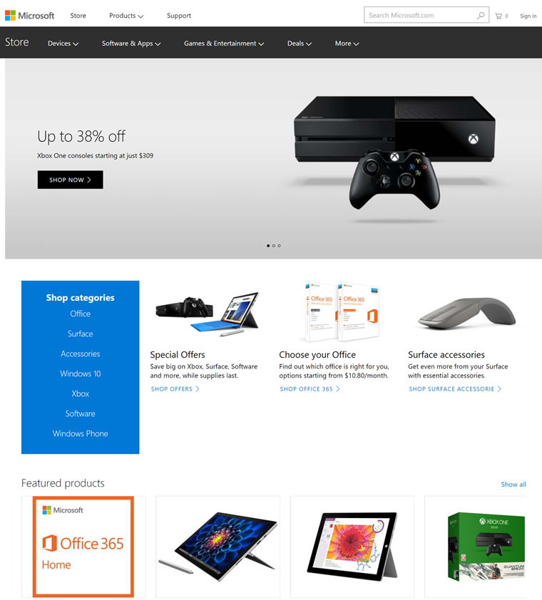 Microsoft sg