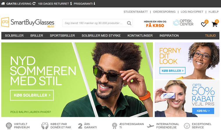 SmartBuyGlasses Danmark