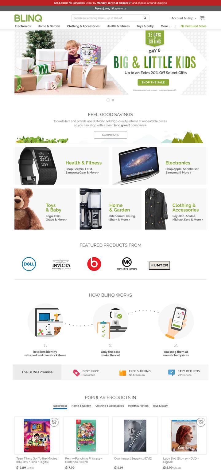 美国转售二手商品的电子商务平台:BLINQ - world68海淘 38ad74f558